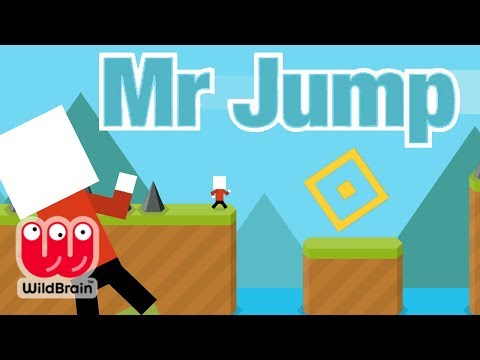 Mr Jump LIVE Official App Game Gameplay Online Free Tricks & Download Best Apps for Kids! - 동영상