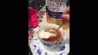 видео Коллаген питьевой The Collagen Enriched SHISEIDO (Япония)