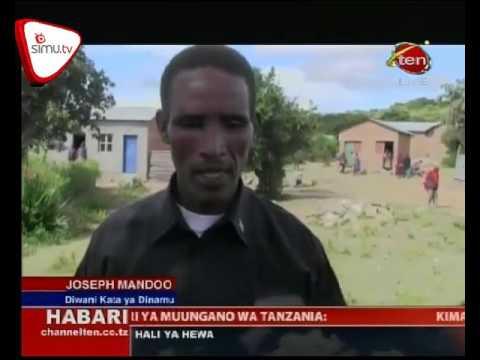 Mgogoro Wa Mipaka Wilaya Ya Mbulu