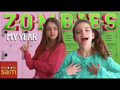MY YEAR Disney's Zombies Cast 🎵 Sophia & Bella Mugglesam