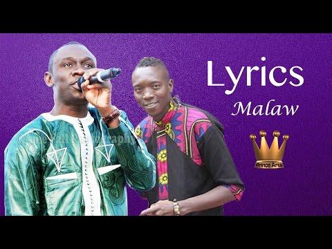 PAPE DIOUF Malaw LYRICS Feat Baye Babou