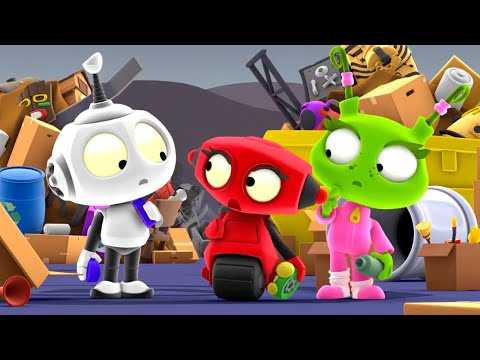 Tidy Up Yourself   Rob The Robot   Toddler Learning Video