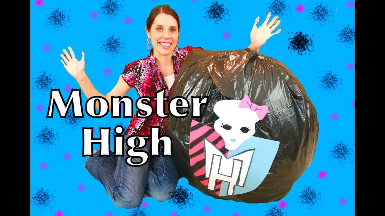 Monster High Surprise Egg Mattel Barbie Dolls
