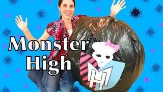 Monster High Surprise Egg Mattel Barbie Dolls