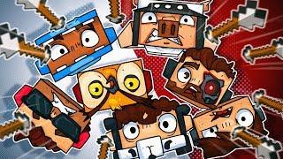 ARROW ROULETTE! Terroriser Hates Popeye's, & Panda's Prank! - Minecraft!