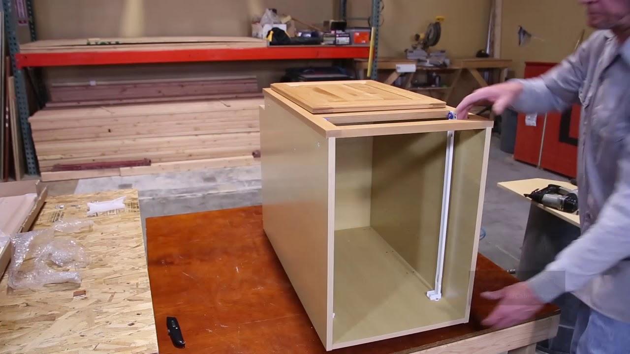 Cabinet Assembly | Knotty Alder Cabinets. KnottyAlderCabinets.com