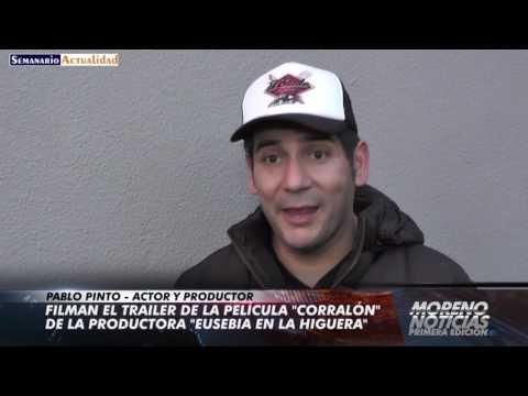 Filman el trailer de la película Corralón de la productora Eusebia en la Higuera   Pablo Pinto