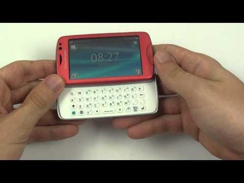 Sony Ericsson Txt Pro - design a konstrukce