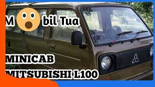 Minicab Mitsubishi L100 test drive mobil tua #mobiltua #motuba