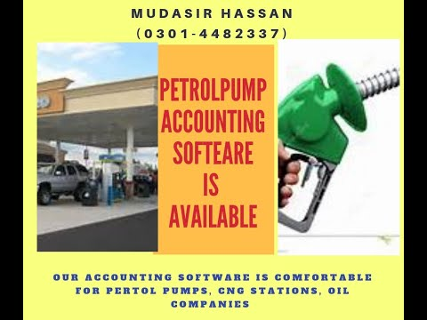 Petrol Pump Complete Accounting Software Demo