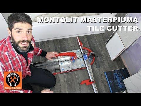 Best Tile Cutter for Any Type of Tile (Montolit Masterpiuma)
