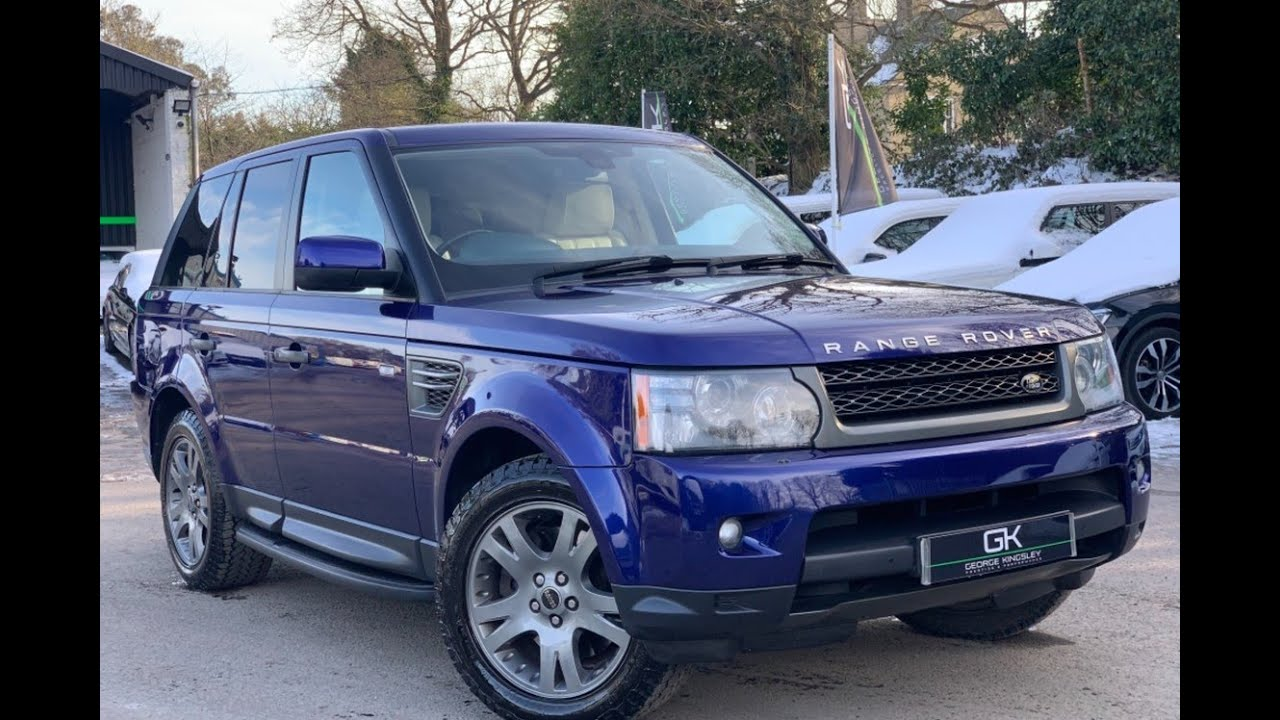 2009 Range Rover Sport Hse In Bali Blue For Sale At George Kingsley Prestige Performance Essex Youtube