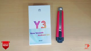 Huawei Y3 2018 unboxing Bangla. Android 8.0