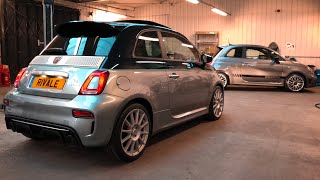 EXPLORING The NEW Abarth 695 Rivale 2018 | Interior Exterior Overview + Revs!