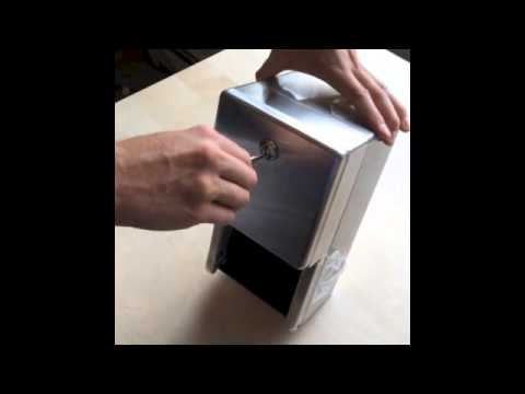 Bobrick B-2888 Surface-Mounted Multi-Roll Toilet Tissue Dispenser - What's in the box
