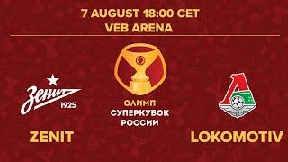 Zenit vs Lokomotiv   Russian Super Cup 2020