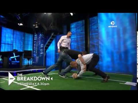 Richie McCaw on how to clear out player with low base