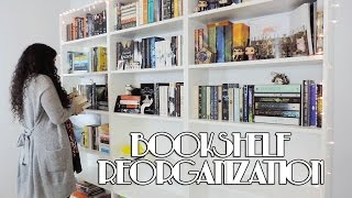 Reorganizing My New Bookshelves!