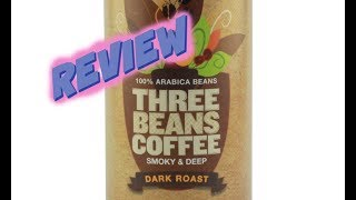 Whole Foods Three Beans Coffee Dark Roast Review | BuzzChomp Food