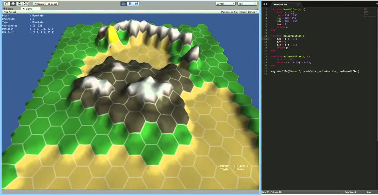 Hex Tile Map Editor Youtube