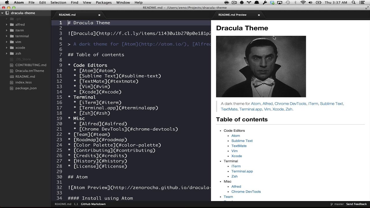 First impressions about Atom, GitHub's new text editor
