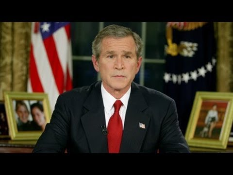 President Bush Announces Start of Iraq War