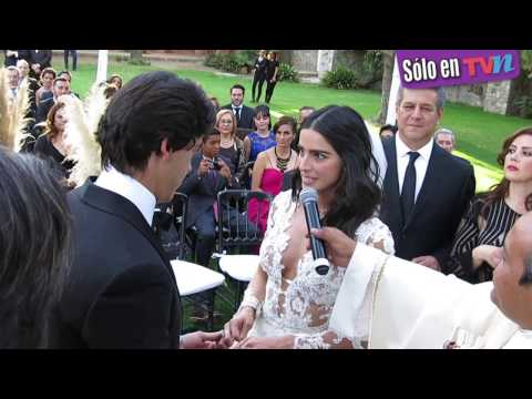 Enlace matrimonial lleno de ilusión el de Bárbara de Regil y Fernando