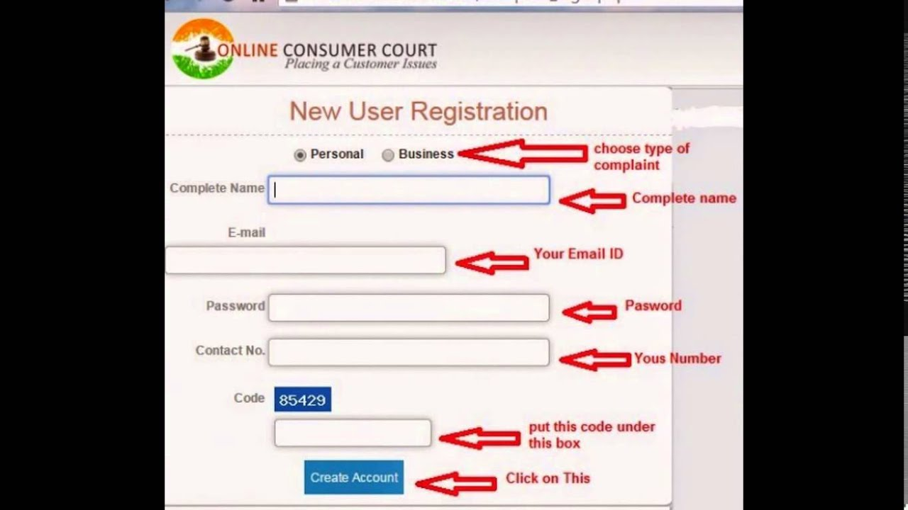 How to file online complaint in consumer court online consumer how to file online complaint in consumer court online consumer court onlineconsumercourt youtube spiritdancerdesigns Gallery