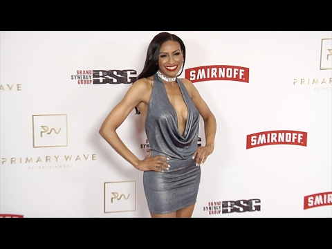 Rhonda Wills 2017 Primary Wave Pre-Grammy Event Red Carpet