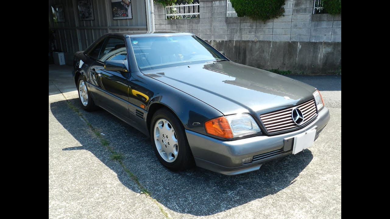 Mercedes Benz Sl320 R129 39 1994 Youtube
