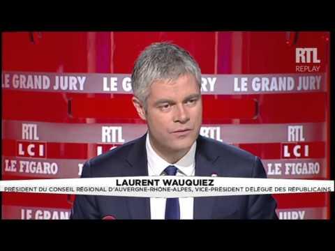 Le Grand Jury - Laurent Wauquiez, 1ère partie - RTL - RTL