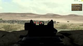 Arma 2: Operation Arrowhead - Firing Range Gameplay (PC 4K Quality)
