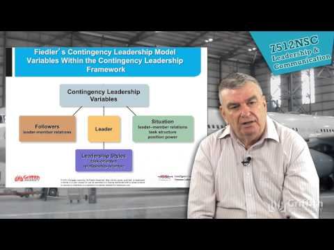 7512NSC Lecture 4: Contingency Leadership Theories