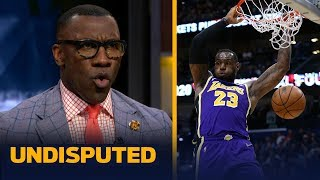 'LeBron makes his MVP case every time he steps on the floor' — Shannon Sharpe   NBA   UNDISPUTED
