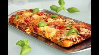 Пицца на творожном тесте. Готовьте дома. По моему очень круто!! Домашний ресторан®