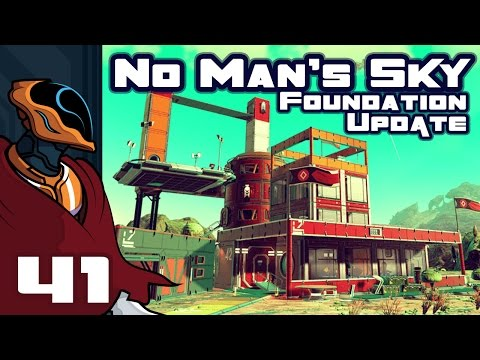 Let's Play No Man's Sky Foundation Update 1.1 - Part 41 - And Now We Wait