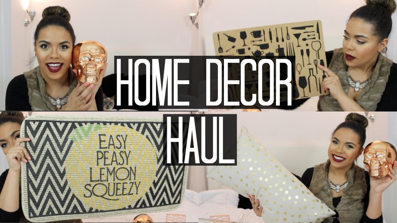 home decor haul homesense marshalls walmart samantha jane - Walmart Home Decor
