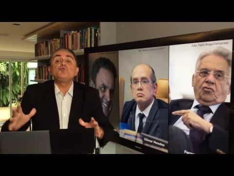 Aécio e Gilmar: obrigado, a nação brasileira agradece.