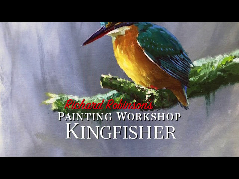 kingfisher-painting-lesson