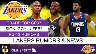 Lakers trade rumors are heating up as the purple & gold off to a scorching start this season. could chris paul be in works for lakers? be...