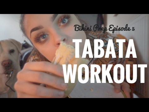 Bikini Prep Diaries: Ep 5| TABATA WORKOUT