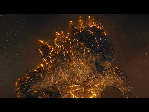 Nuclear Godzilla vs King Ghidorah | Godzilla: King of the Monsters [4k, HDR]