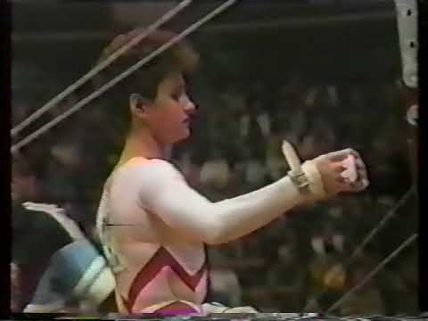 1987 World Gymnastics Championships - Women's Individual All-Around Final (Japanese TV)