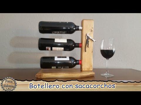 Botellero de madera para vinos youtube - Botelleros de madera para vino ...