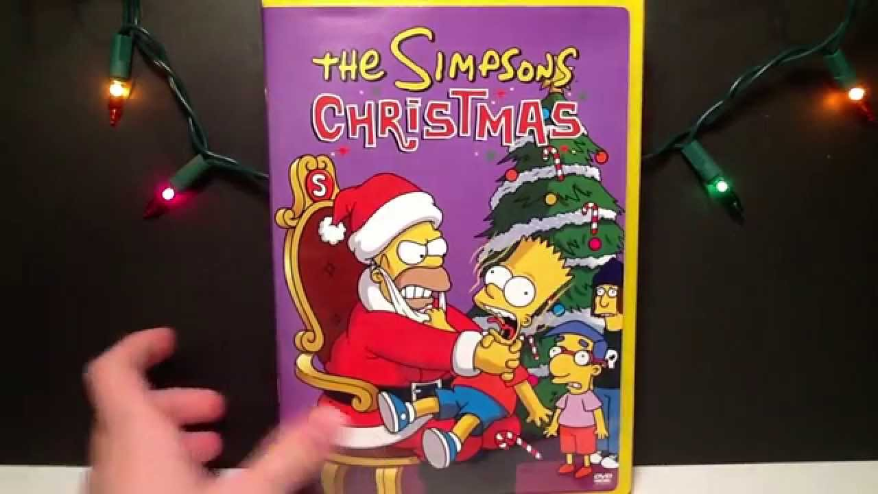 The Simpsons Christmas Dvd.The Simpsons Christmas Dvd Review