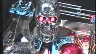 Terminator 2 Pinball Promo Video (part 1)
