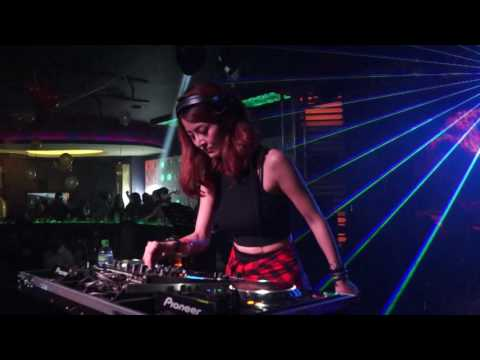 DJ Nana on 2017 New Year Eve Countdown Party (31/12) at Club Celebrities Miri, Malaysia 2