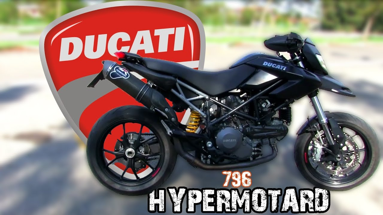 ducati hypermotard 796 2011 test ride youtube. Black Bedroom Furniture Sets. Home Design Ideas