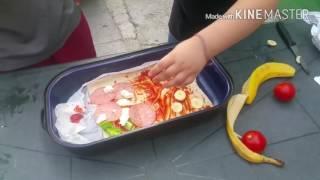 Pizza challenge edko tom mario