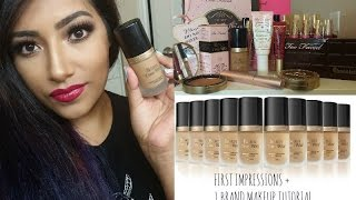 born this way foundation review 1 brand makeup tutorial using toofaced cosmetics
